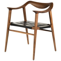 Bambi 57 Armchair Walnut, New Edition
