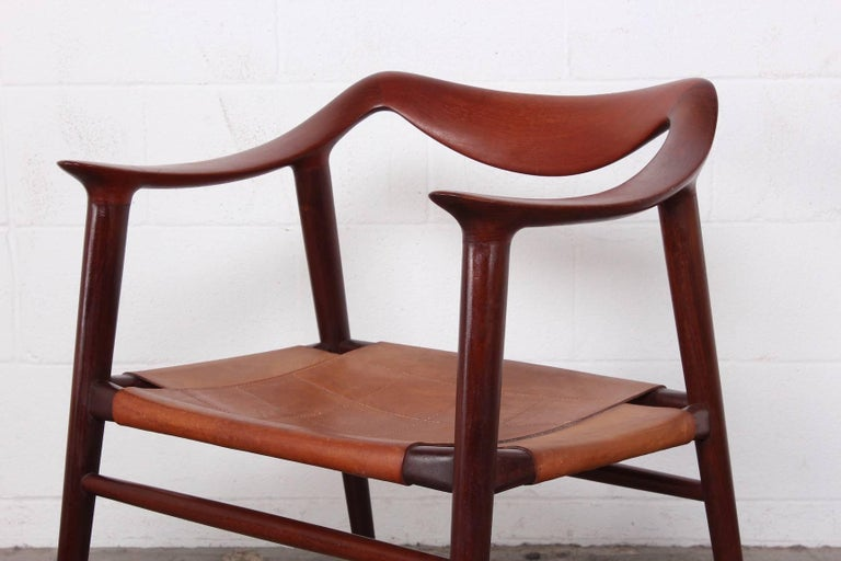 Bambi Chair by Rastad and Relling For Sale 9