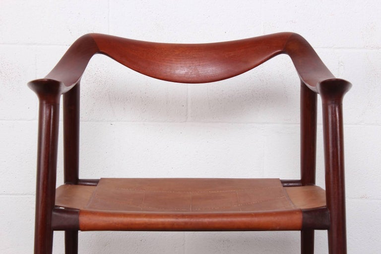 Mid-20th Century Bambi Chair by Rastad and Relling For Sale