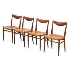 """Bambi"" Dining Chairs by Rastad & Relling for Gustav Bahus, Norway, 1950s"