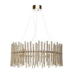 Bamboo 16-Light Chandelier