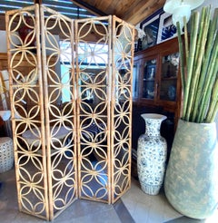 Bamboo 4-Panel Fold Screen Bielecky