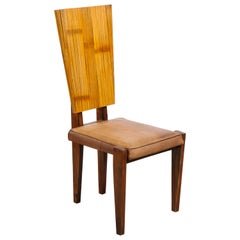 Bamboo and Ash Side Chair