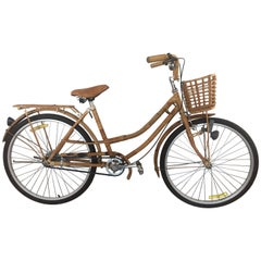 Bamboo and Rattan Bicycle