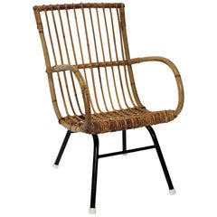 Bamboo and Rattan Childs Chair