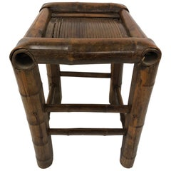 Bamboo Asian Stool