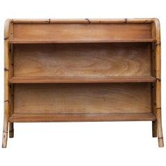 Bamboo Book Shelf, France, 1950s