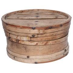 Bamboo Box from Bhutan as Little Table