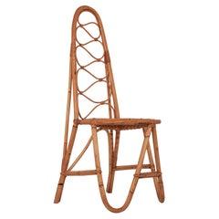 Bamboo Chair, Spain, 1960s