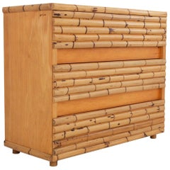 Bamboo Chest of Drawer by Raffaello Biagetti in 1971 Arundine collection