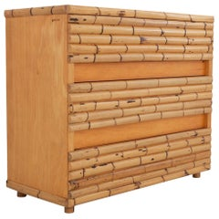Bamboo Chest of Drawers by Venturini