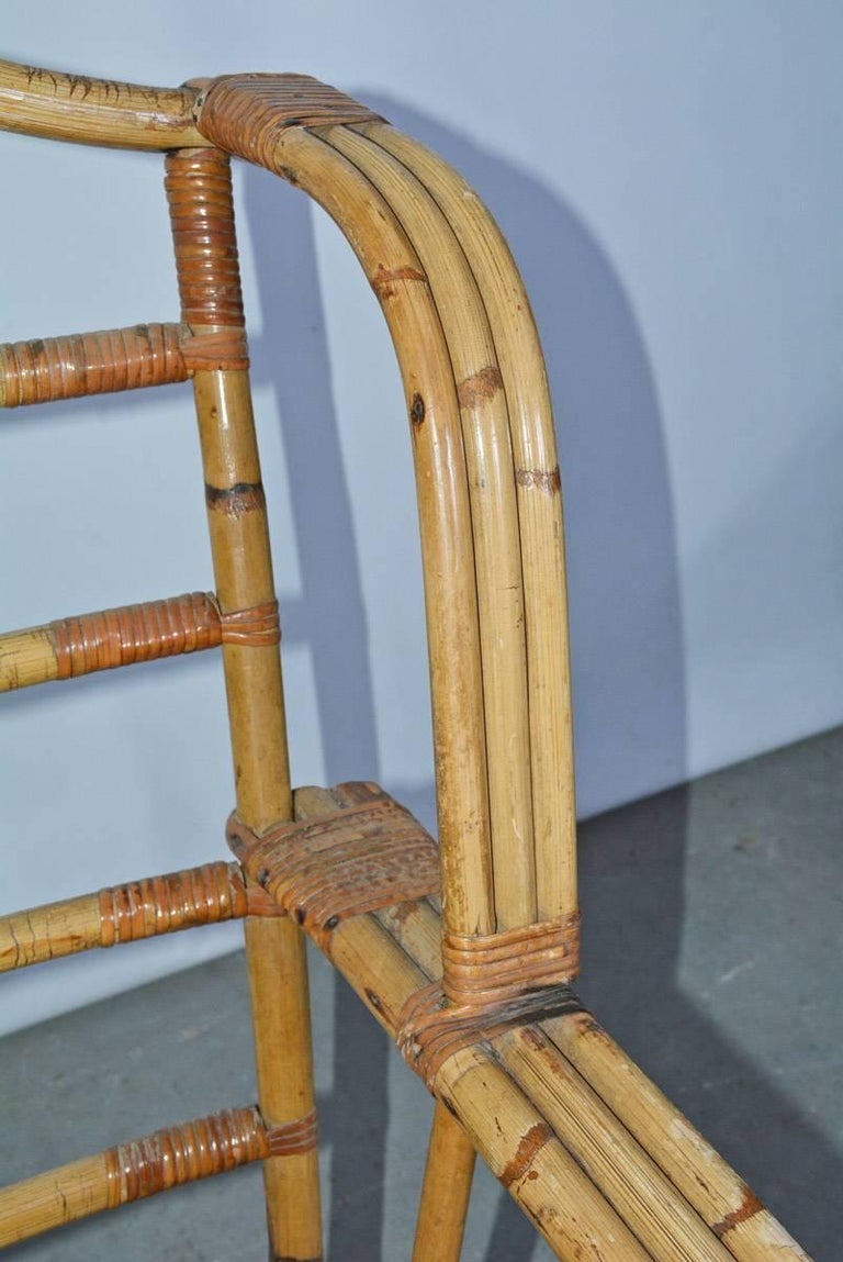 Bamboo Club Chair For Sale 2