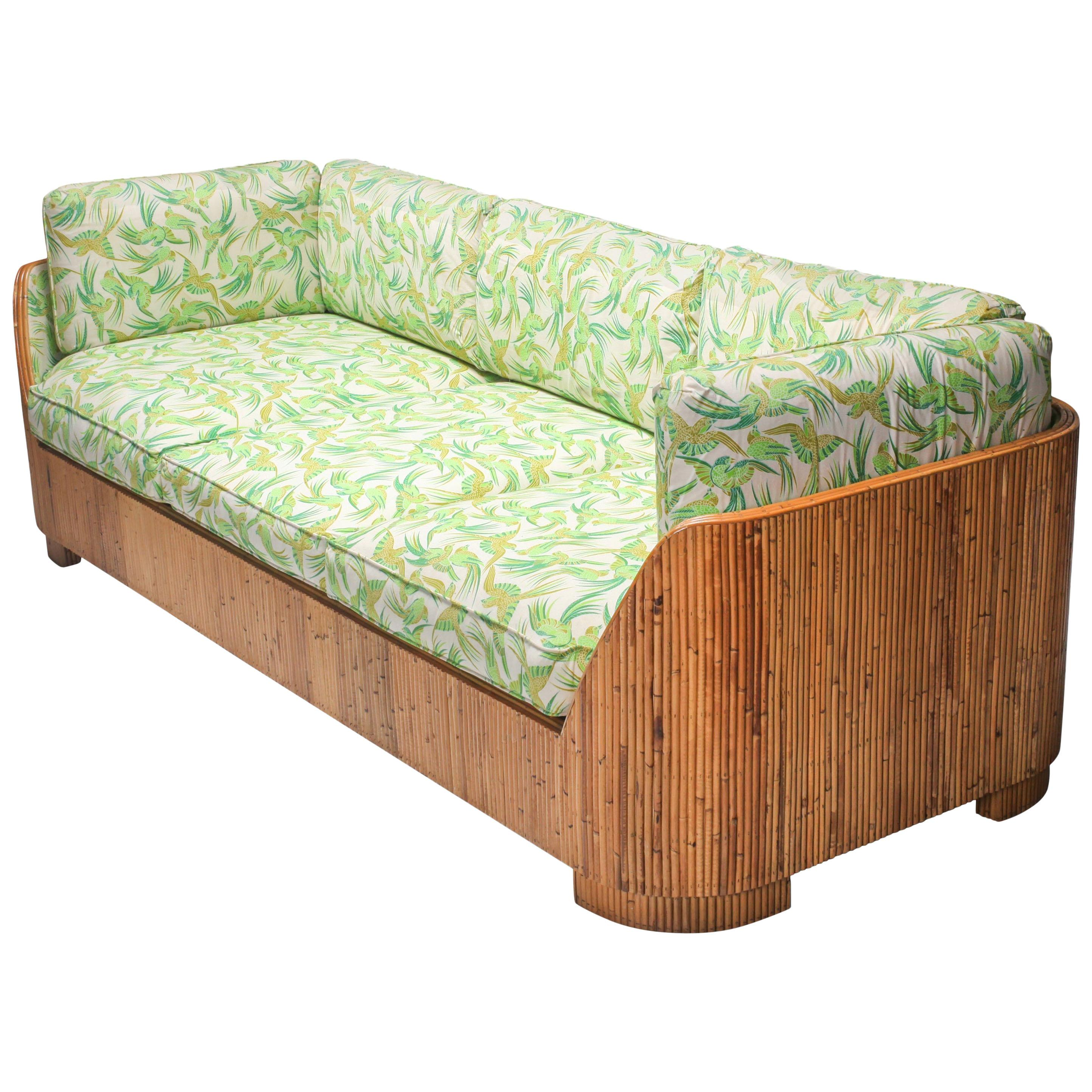Bamboo Couch by Vivai del Sud
