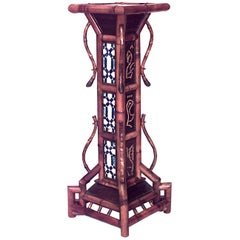 Bamboo 'English Victorian' Large Square Pedestal