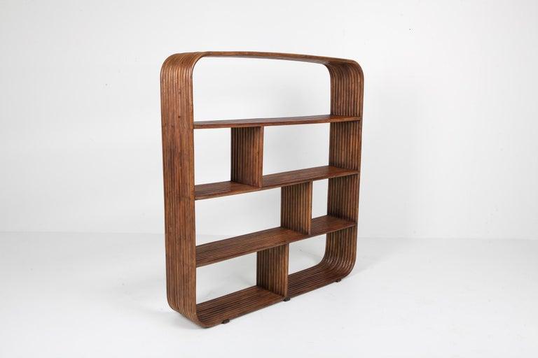 European Bamboo étagère room divider Henry Olko