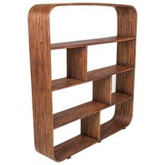 Bamboo étagère room divider Henry Olko