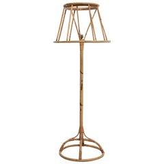 Bamboo Floor Lamp by Trio Noordwolde, the Netherlands, 1960s
