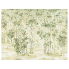 Bamboo Forest Chinoiserie Mural