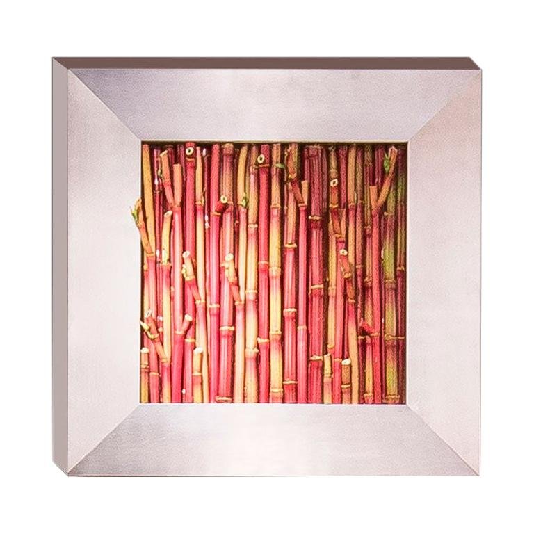 Bamboo Frame Set Arrangement, Flowers and Frame, Italy