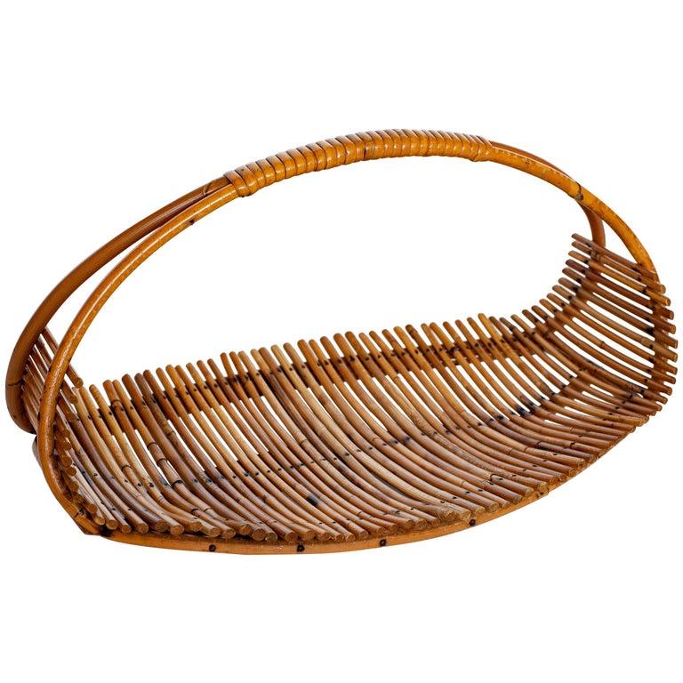 Bamboo Fruit Basket For Sale