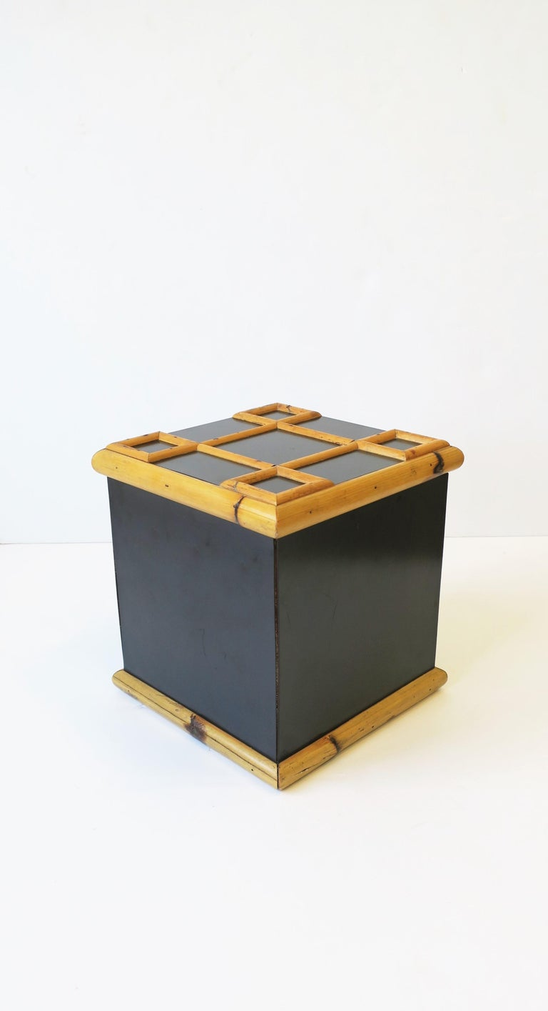 Bamboo Ice Bucket, circa 1960s For Sale 6