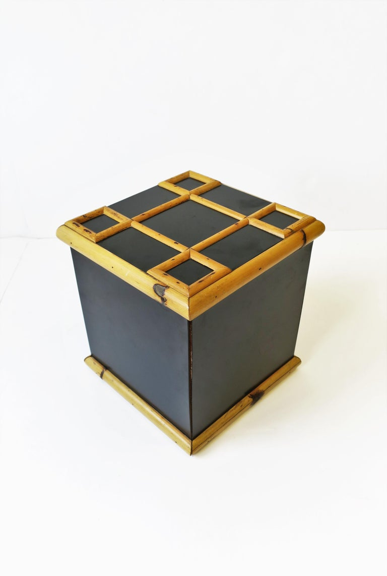 Bamboo Ice Bucket, circa 1960s For Sale 2