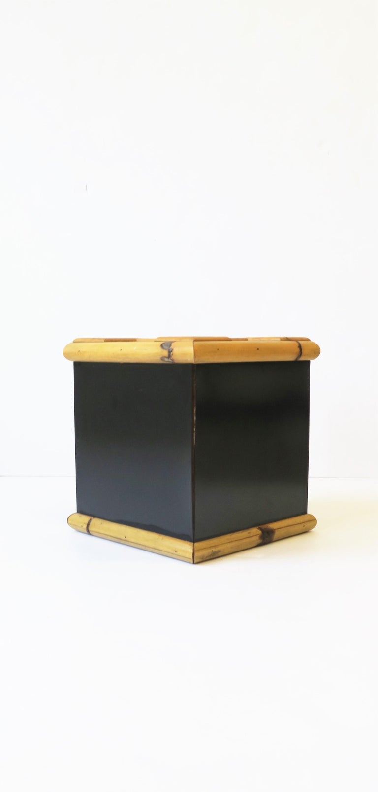 Bamboo Ice Bucket, circa 1960s For Sale 5