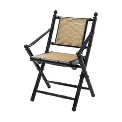 Bamboo Lacquered Folding Chair