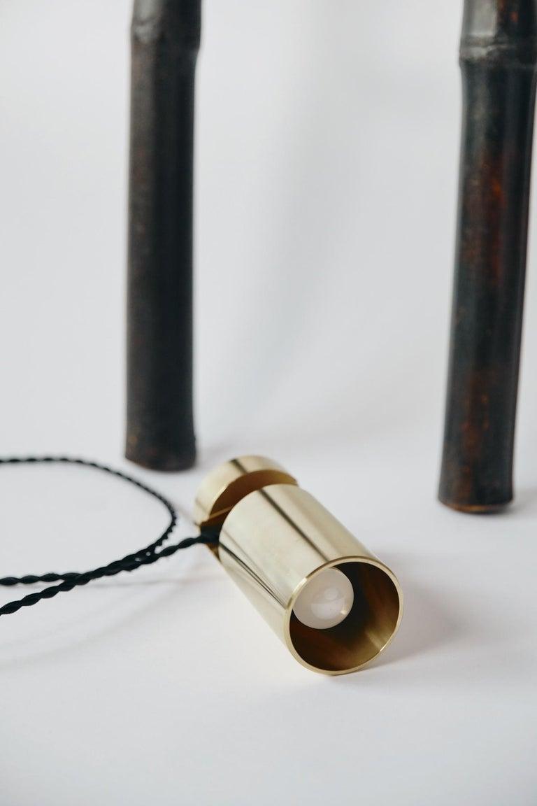 Bamboo Ladder Light Ryosuke Harashima Contemporary Zen Japanese Craft Mingei For Sale 4