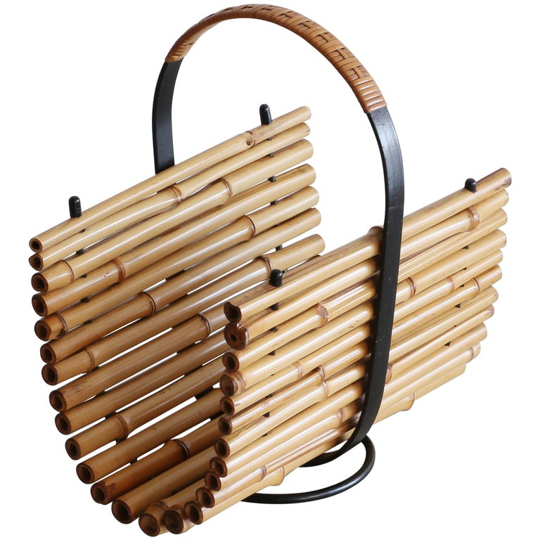Bamboo Magazine Rack For Sale