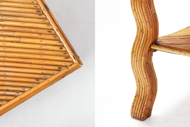 Bamboo Occasional Table by Vivai del Sud For Sale 1