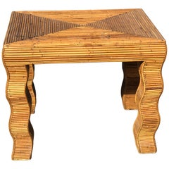Bamboo Occasional Table by Vivai Del Sud Italy
