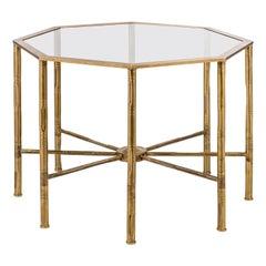 Bamboo Octagonal Coffee Table