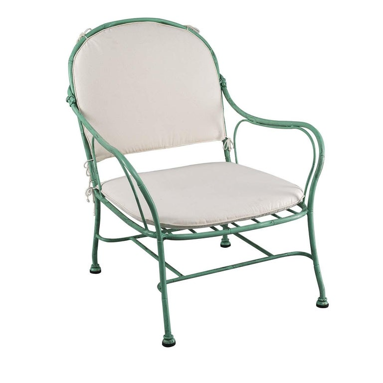 Bamboo Outdoor Armchair by Officina Ciani For Sale
