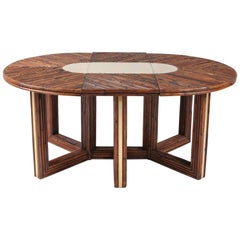 Bamboo 'Rising Sun' Dining Table by Ferdinando Loffredo