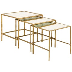Bamboo Set of 3 Nesting Tables