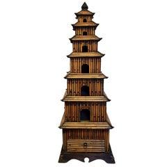 Bamboo Tabletop Pagoda Temple