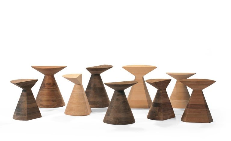 Mexican Ban S Stool in Walnut Hardwood For Sale