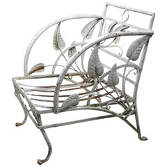 Banana Leaf Garden Patio Lounge Chair