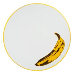 Banana Plate after Andy Warhol