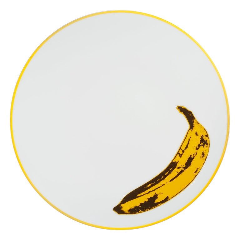 Banana Plate after Andy Warhol For Sale