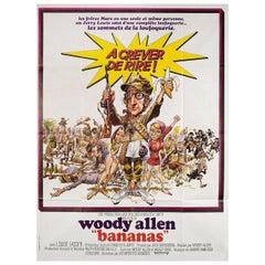 """Bananas"" 1971 French Grande Film Poster"