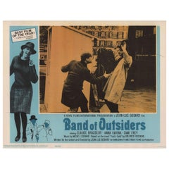 """""""Band of Outsiders"""" 1966 U.S. Scene Card"""