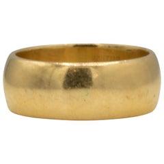 Band Ring 18 Karat Yellow Gold