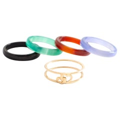 Band Ring Exchangeable Yellow Gold