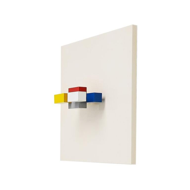 Bander Van Ierland Molecular Construction Holland, 1986 Color