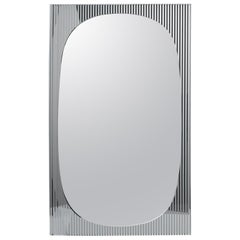 Bands Floor Mirror, by Angeletti Ruzza, Made in Italy, In stock in Los Angeles