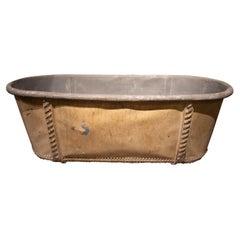 Bañera de metal del S XIX. Francesa