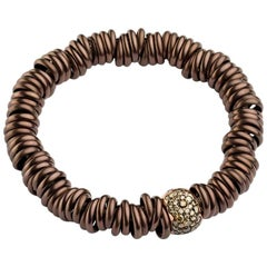 Bang Titanium Bracelet or Cognac Rose Gold