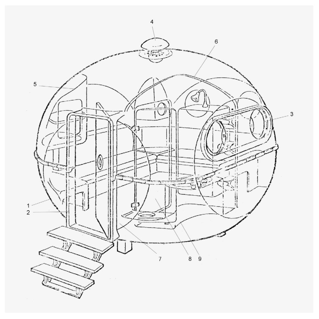 'BANGA' Modular Space Age Architecture, Carlo Zappa Bungalow Int, 1971, Italy